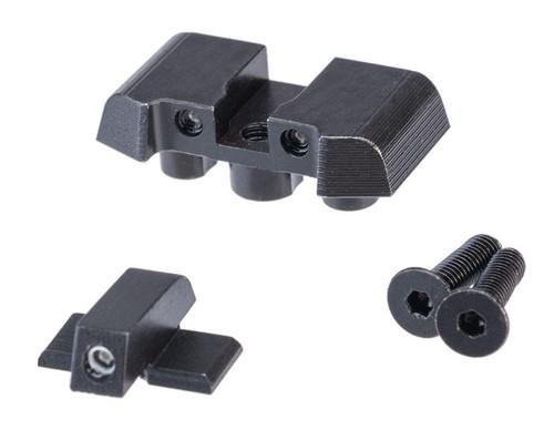 Pro-Arms Steel Tritium Sight Set for SIG Sauer ProForce P320 M17 MHS Airsoft GBB Pistols