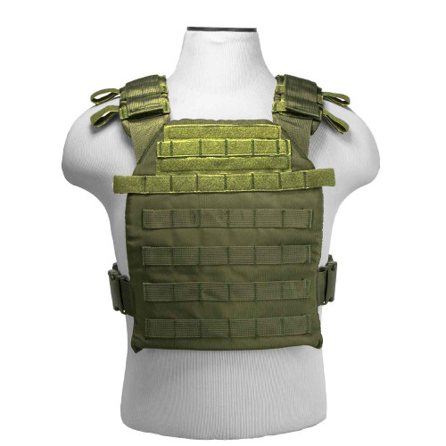 VISM Fast Plate Carrier (Green)