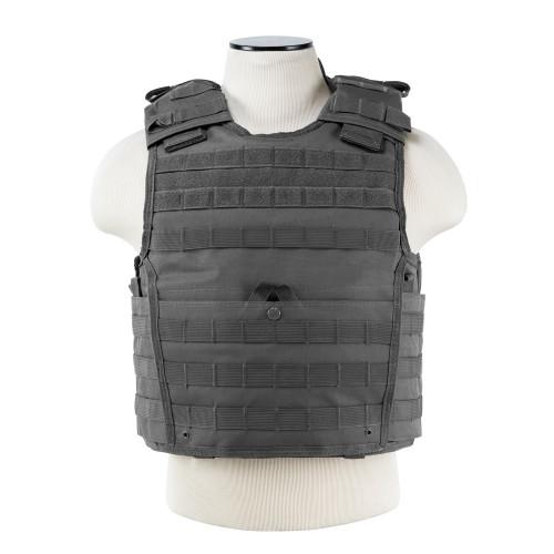 VISM Expert Plate Carrier Vest (Urban Gray)