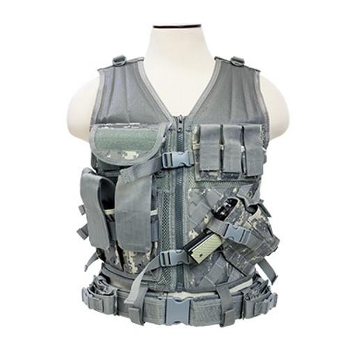 VISM Tactical Vest (Digital Camo)