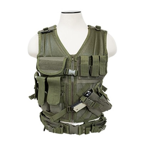 VISM Tactical Vest (Digital Green)