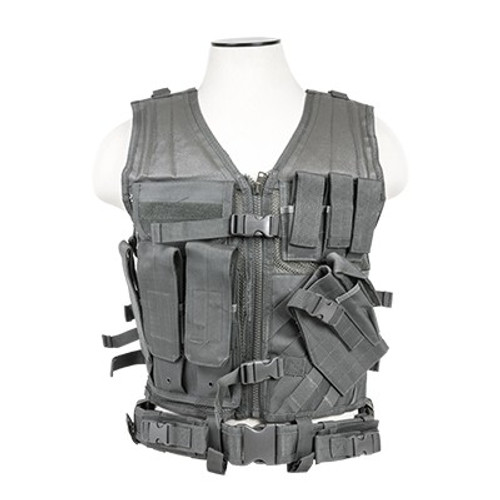 VISM Tactical Vest (Urban Gray)