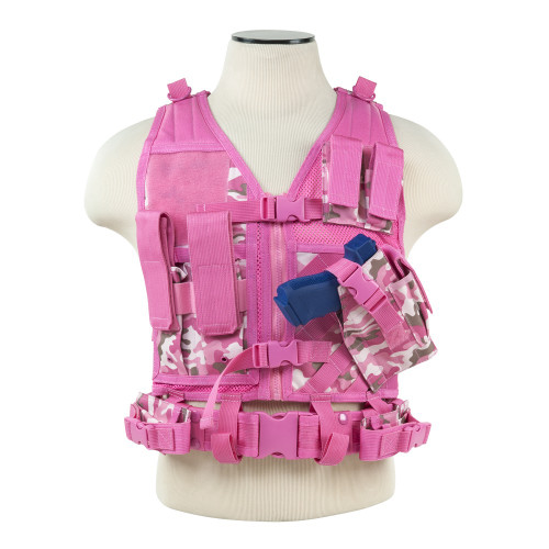 VISM Tactical Vest (Pink Camo)