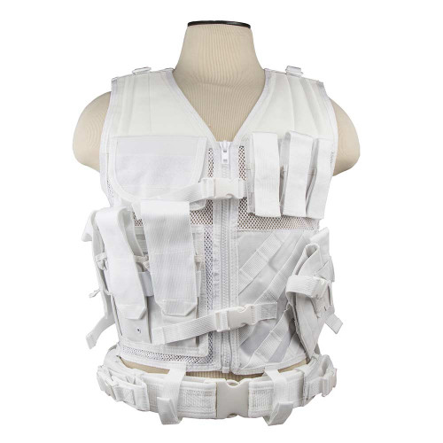 VISM Tactical Vest (White)