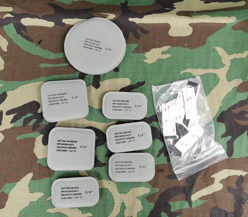 ACH Combat Mich Helmet Replacement Pad Set W/ Helmet Bag