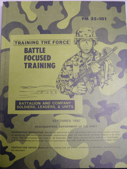 US Armed Forces Training Manual - Battle Focused Training
