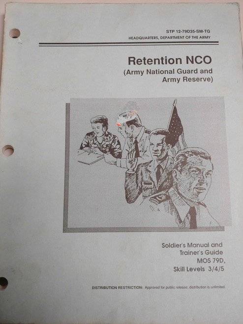 US Armed Forces Manual - Retention NCO