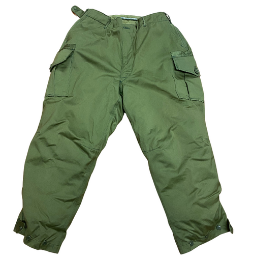 Canadian Korean War Insulated Cold Weather Winter Pants w/ Liner