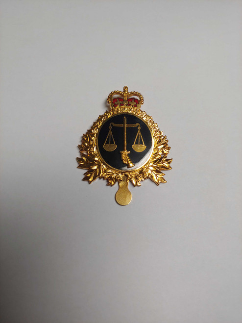 Canadian Armed Forces Cap Badge - Legal Branch