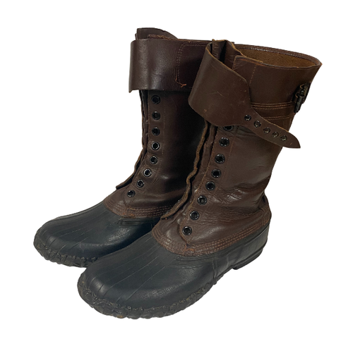 Canadian Issued Korean War Boots