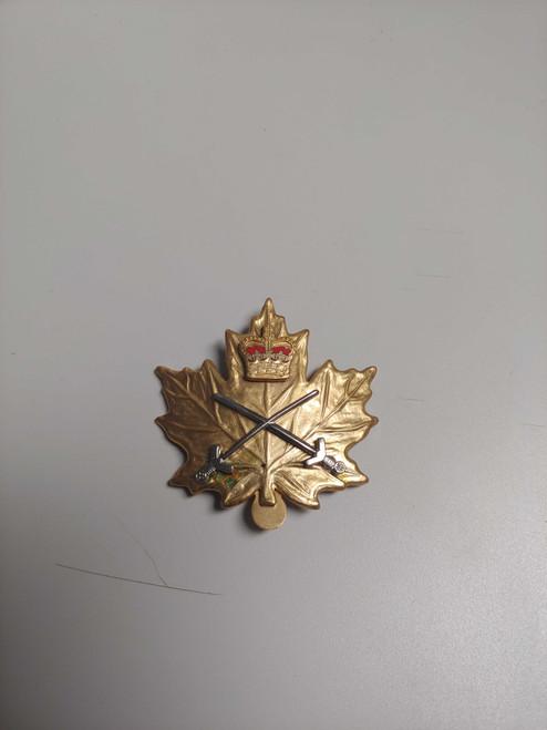 Canadian Armed Forces Cap Badge - PTC Cadet Badge