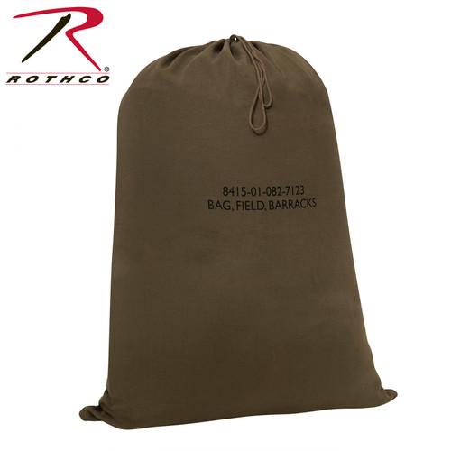 "G.I. Type Canvas Barracks Bag - Olive Drab 30"" x 40"""