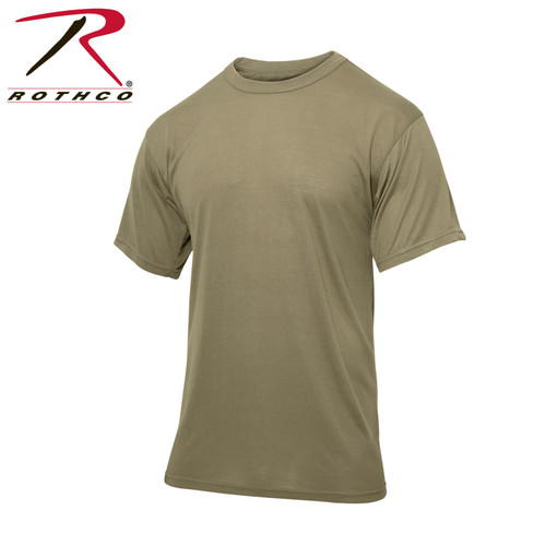 Moisture Wicking T-Shirts - AR 670-1 Coyote Brown