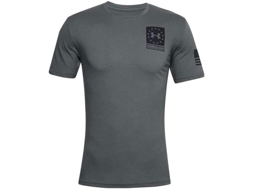 """Under Armour Men's UA Freedom """"Freedom Snake"""" T-Shirt (Color: Gray)"""