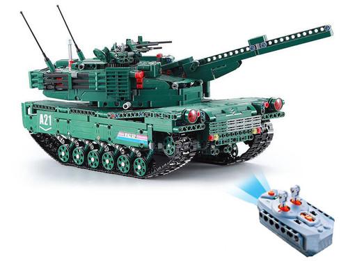 Tengyang Building Block Set Collectible Building Block Set M1A2 RC Tank
