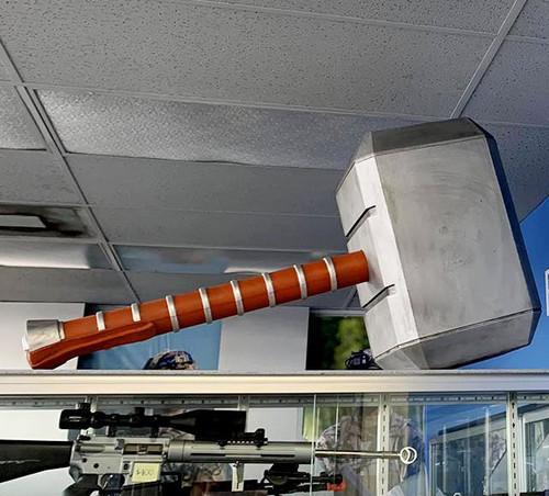Marvel Thor's Hammer Oversized Foam Prop Replica
