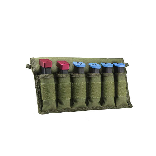 Large Pistol Magazines Carrier - Green