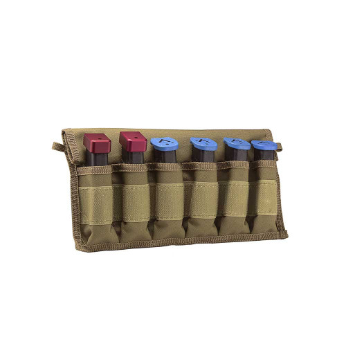 Large Pistol Magazines Carrier - Tan