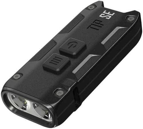 TIP SE Keychain Light Black