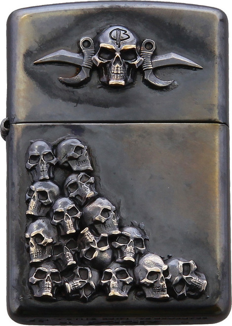 Skulls Zippo Lighter Single