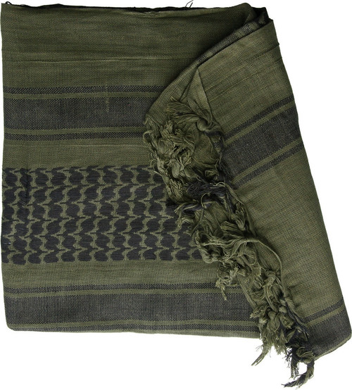Shemagh Olive Drab Black