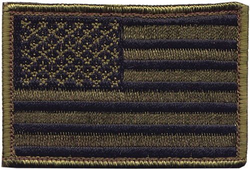 American Flag Patch OD