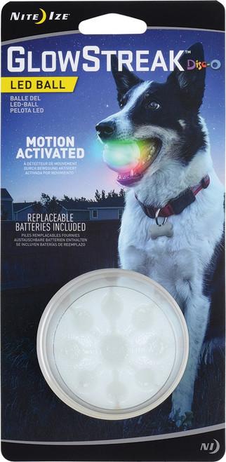 GlowStreak LED Ball Disc-O