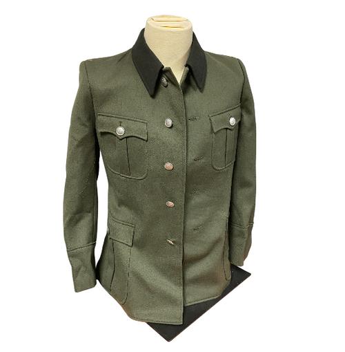 1960's East German Closed Collar Jacket