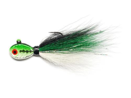 Mustad Saltwater Tamer Bucktail Jig (Color: Sand Eel)