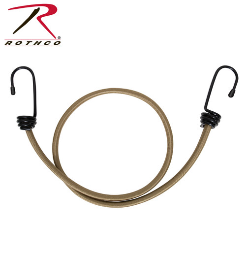 Rothco Bungee Shock Cords - AR 670-1 Coyote Brown