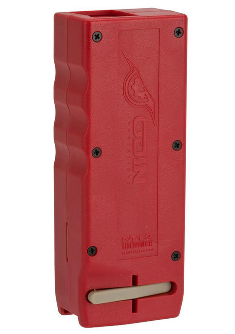 Odin Innovations M12 Sidewinder Speed Loader (Color: Red w/ Sound Dampening Buffer)