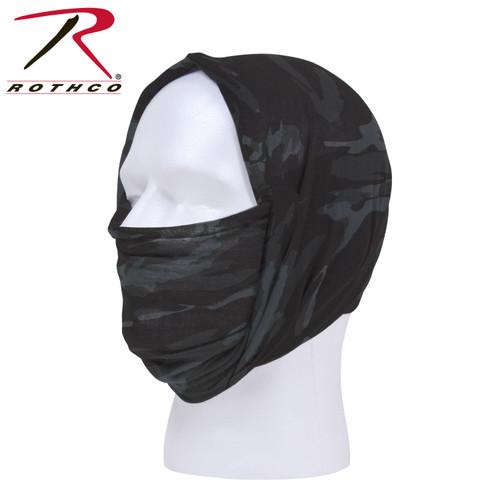Multi Use Tactical Wrap - Black Camo