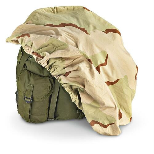 U.S. Armed Forces Backpack Cover  -3 Colour Desert