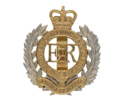 British Armed Forces Cap Badge - Corps of Royal Engineers