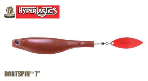 "Hyperlastics Dartspin Plastic Fishing Bait (Model: 7"")"