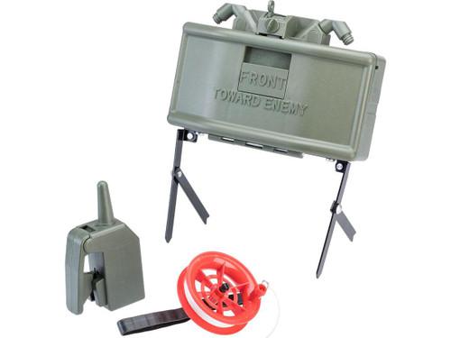 Matrix M18A1 Claymore Airsoft Anti-Personnel Mine w/ Trip Wire and Remote Clacker