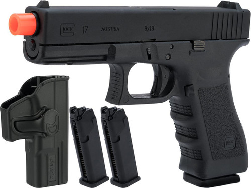 Elite Force Fully Licensed GLOCK 17 Gen.3 Gas Blowback Airsoft Pistol (Type: CO2 / Carry Package)