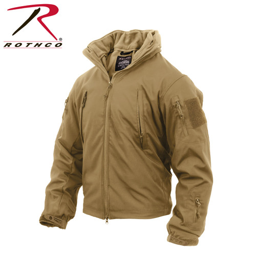 Rothco 3-in-1 Spec Ops Soft Shell Jacket - Coyote Brown