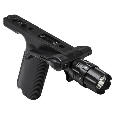 VISM Vert Grip w/Strobe FlashLight - KeyMod