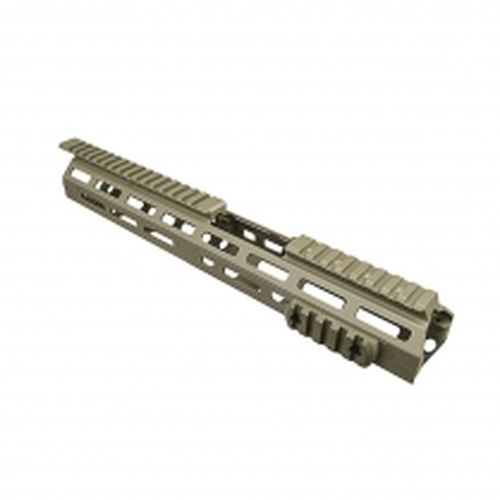 "VISM M-Lok Drop In Handguard - 13.5""L Carbine Extended Handguard Length - Tan"