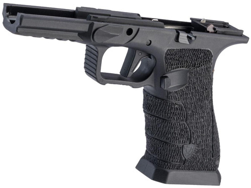 APS Custom Frame w/ Stippling by Bark Tree Style for APS Shark Gas Blowback Airsoft Pistols