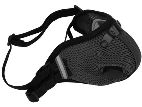 RZ Mask M2.5 Mesh Reusable Dust/Pollution Masks (Color: Black)