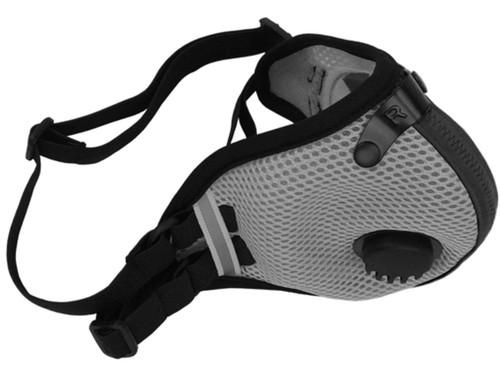 RZ Mask M2.5 Mesh Reusable Dust/Pollution Masks (Color: Titanium)
