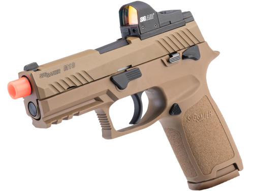 SIG Sauer ProForce P320 M18 MHS Airsoft GBB Pistol (Model: Green Gas / Competition Package)