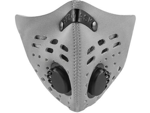 RZ Mask M1 Neoprene Reusable Dust/Pollution Masks (Color: Silver)