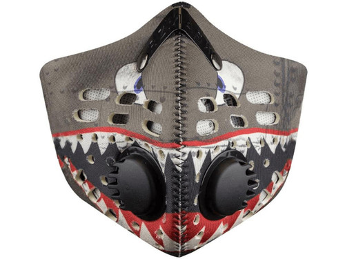 RZ Mask M1 Neoprene Reusable Dust/Pollution Masks (Color: Spitfire)
