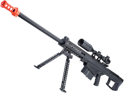 6mmProShop Barrett Licensed M107A1 Bolt Action Powered Airsoft Sniper Rifle