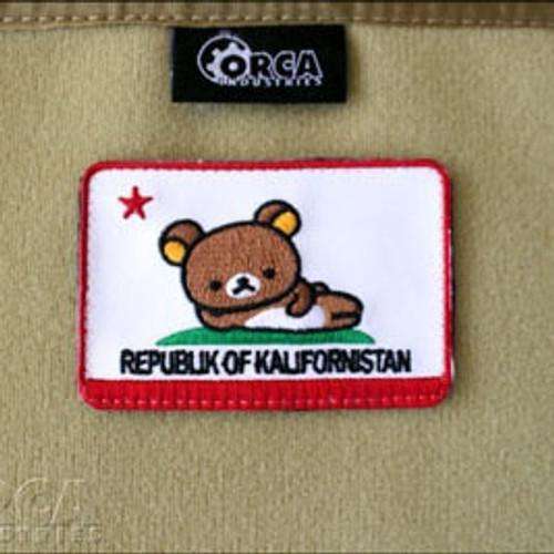 Republik of Kalifornistan - Flag Patch - Morale Patch