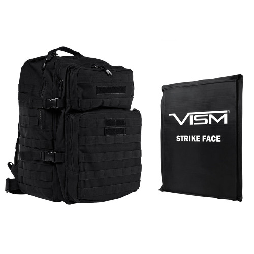 "VISM Assault Backpack w/11""x14"" Level IIIA Soft Ballistic Panel"