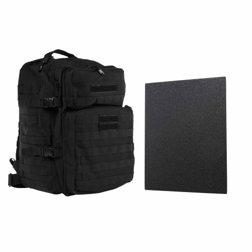 "VISM Assault Backpack w/11""x14"" Level IIIA Hard Ballistic Plate"